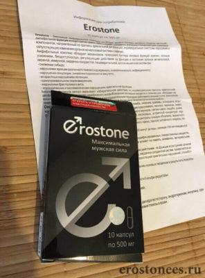 Инструкция и состав препарата для потенции Erostone