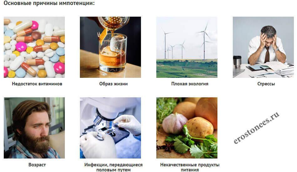 Причины импотенции - erostonees.ru