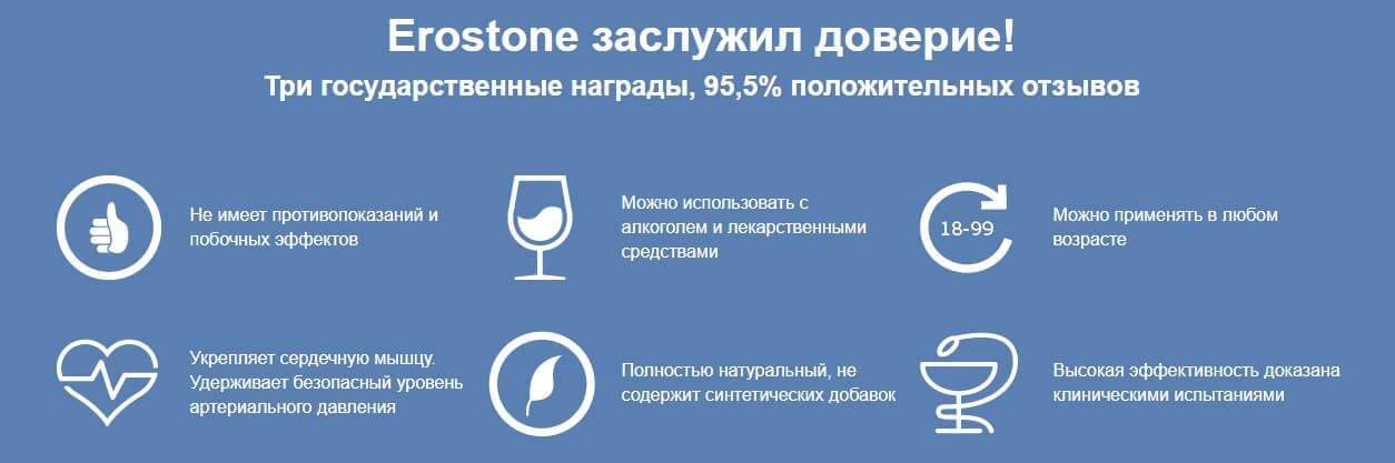 Erostone заслужил доверие - erostonees.ru